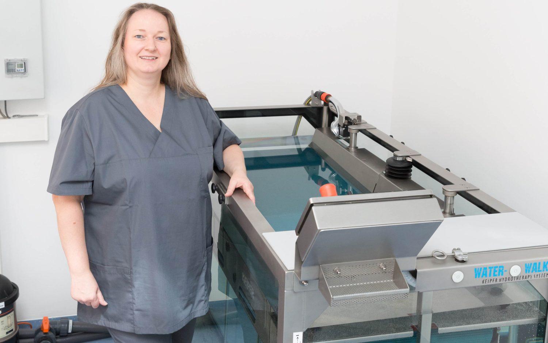 Physiotraining und Unterwasserlaufband - Tierarztpraxis Dr. Sigrid Riener