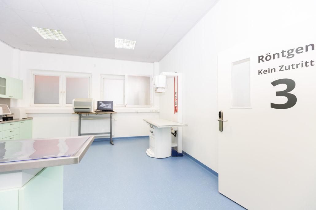 Digitales Röntgengerät in der Praxis - Tierarztpraxis Dr. Sigrid Riener