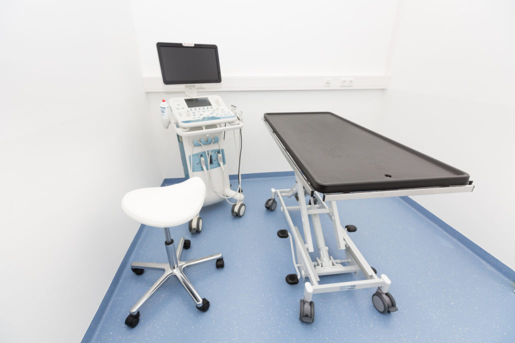 Ultraschallgerät Sonographie in der Praxis - Tierarztpraxis Dr. Sigrid Riener